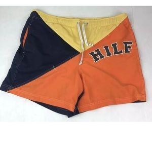 Vtg 2001 Tommy Hilfiger Color Swim Trunks Shorts